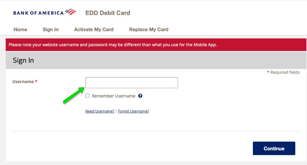 """California EDD Debit Card Login 2"""