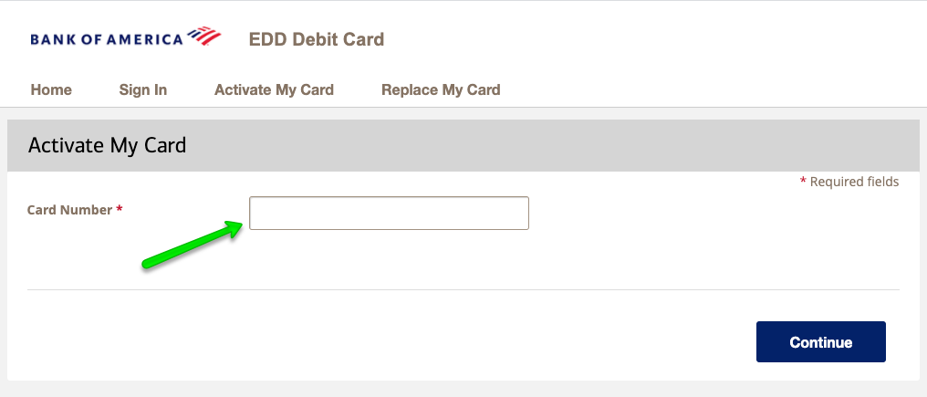 """How to Activate the California EDD Unemployment Debit Card 2"""