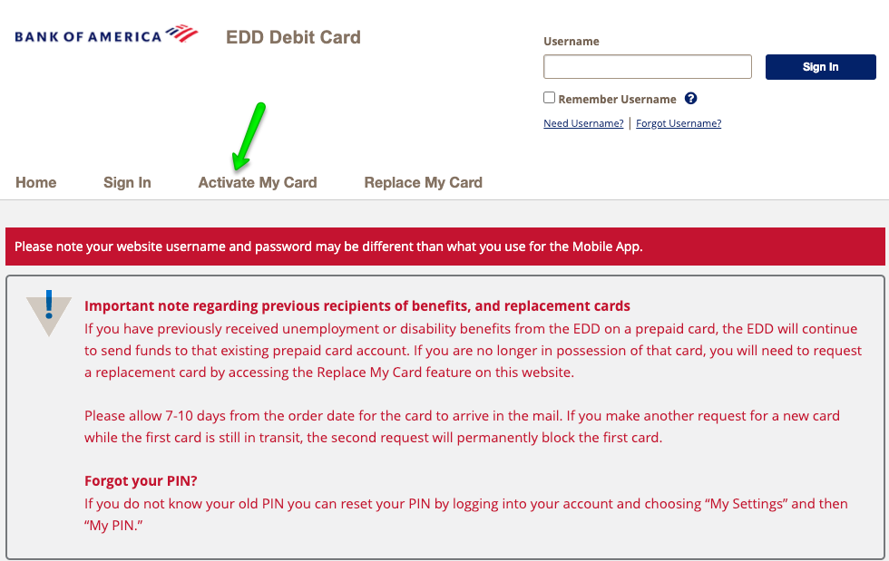 """How to Activate the California EDD Unemployment Debit Card"""