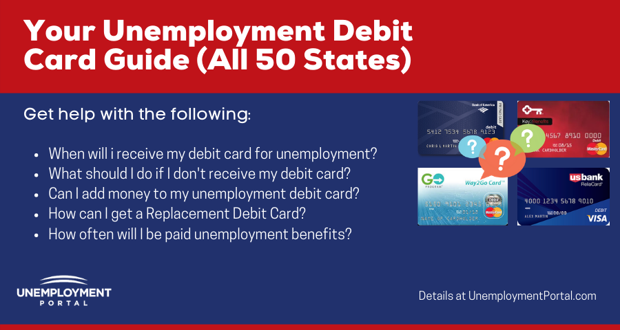 """Unemployment Debit Cards Questions and Answers"""