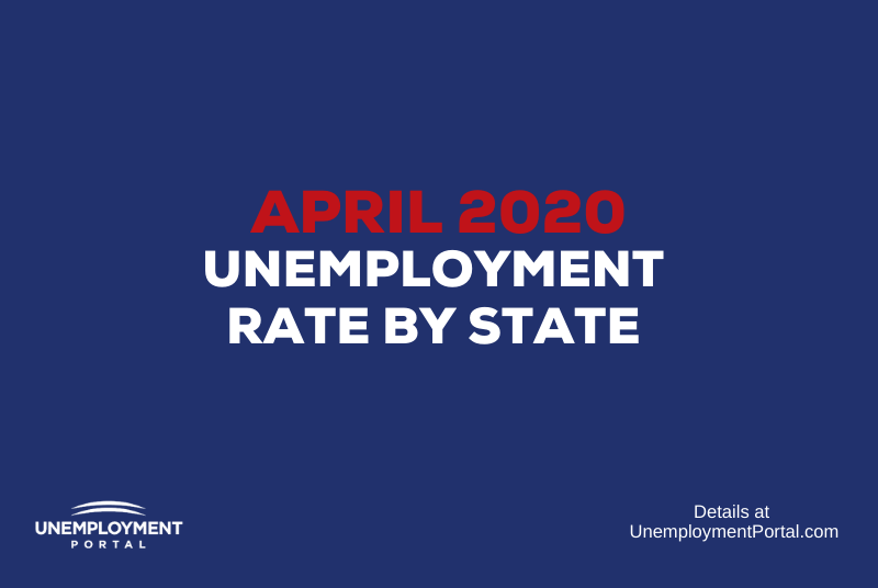 """Unemployment Rate by State April 2020"""