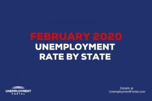 Unemployment Rate by State February 2020