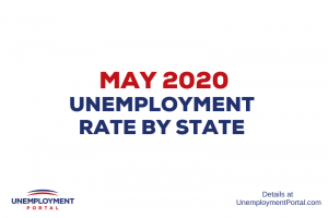 """Unemployment Rate by State May 2020"""