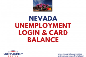 Nevada Unemployment Login Help and Card Balance