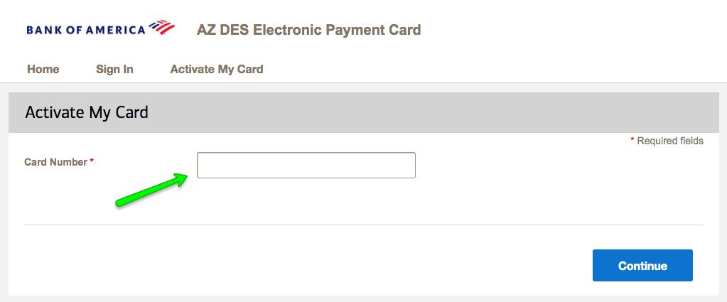 """""""How to Activate AZ DES Unemployment Debit Card 2"""""""