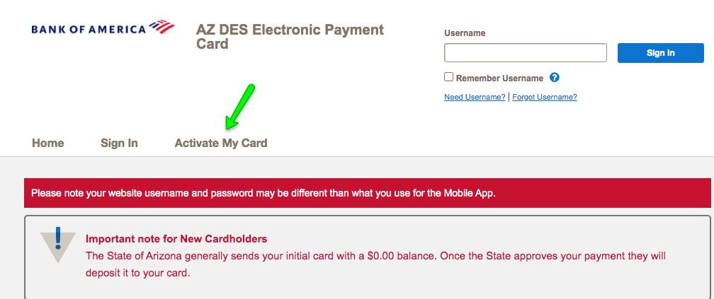 """""""How to Activate AZ DES Unemployment Debit Card"""""""