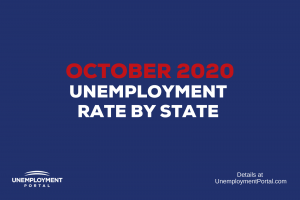 """""""Unemployment Rate by State October 2020"""""""