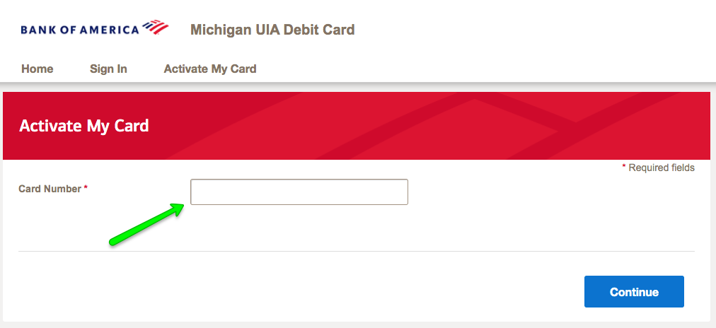 """How to activate Michigan UIA Unemployment Debit Card 2"""