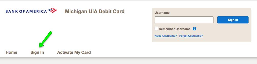 """Michigan UIA Unemployment Debit Card Login"""