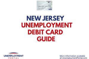 """New Jersey Unemployment Debit Card Guide"""