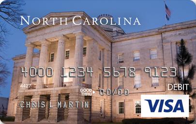 """""""North Carolina DES Unemployment Debit Card"""""""