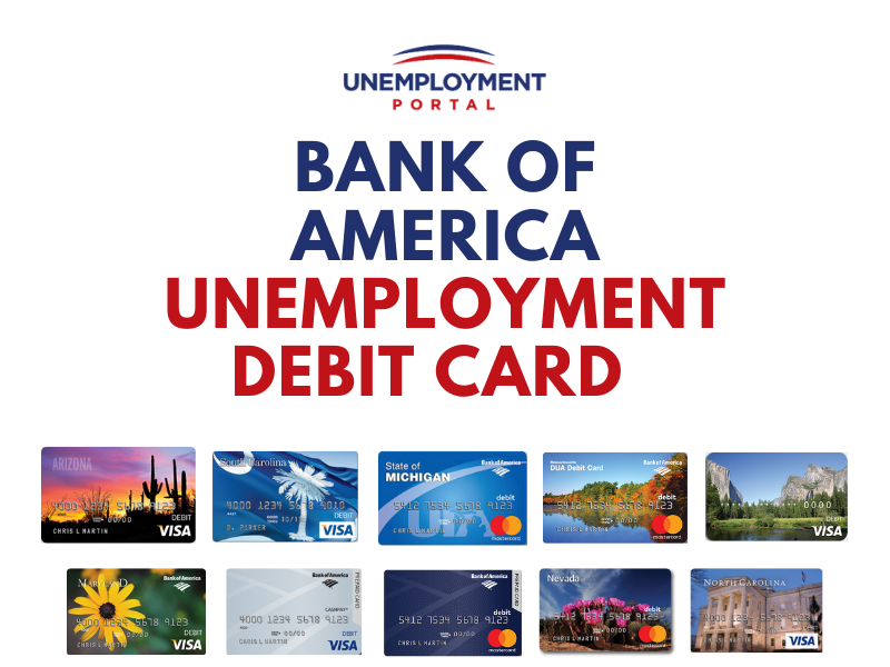 """Bank of America Unemployment Card Guides"""
