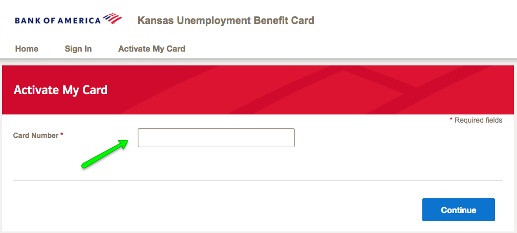 """How to Activate the Kansas Unemployment Debit Card 2"""