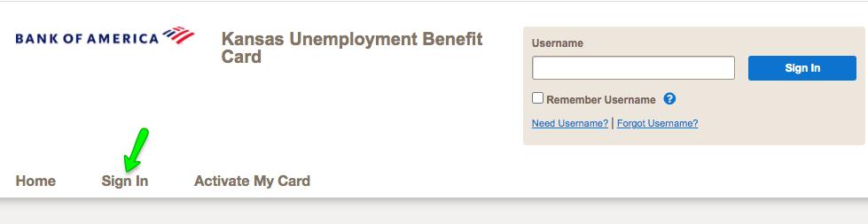 """Kansas Unemployment Debit Card Login"""