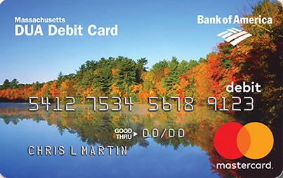 """""""Massachusetts DUA Unemployment Debit Card"""""""