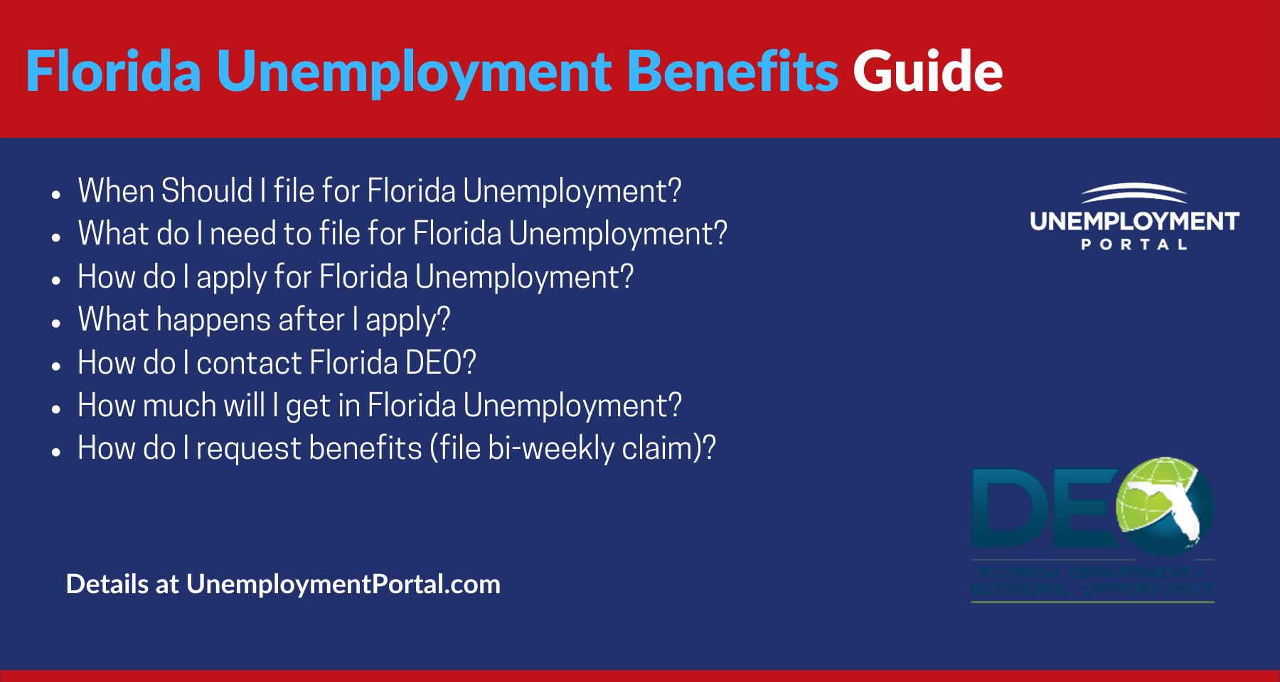 """Florida Unemployment Benefits"""
