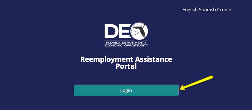 """""""Florida Unemployment CONNECT Mobile App"""""""
