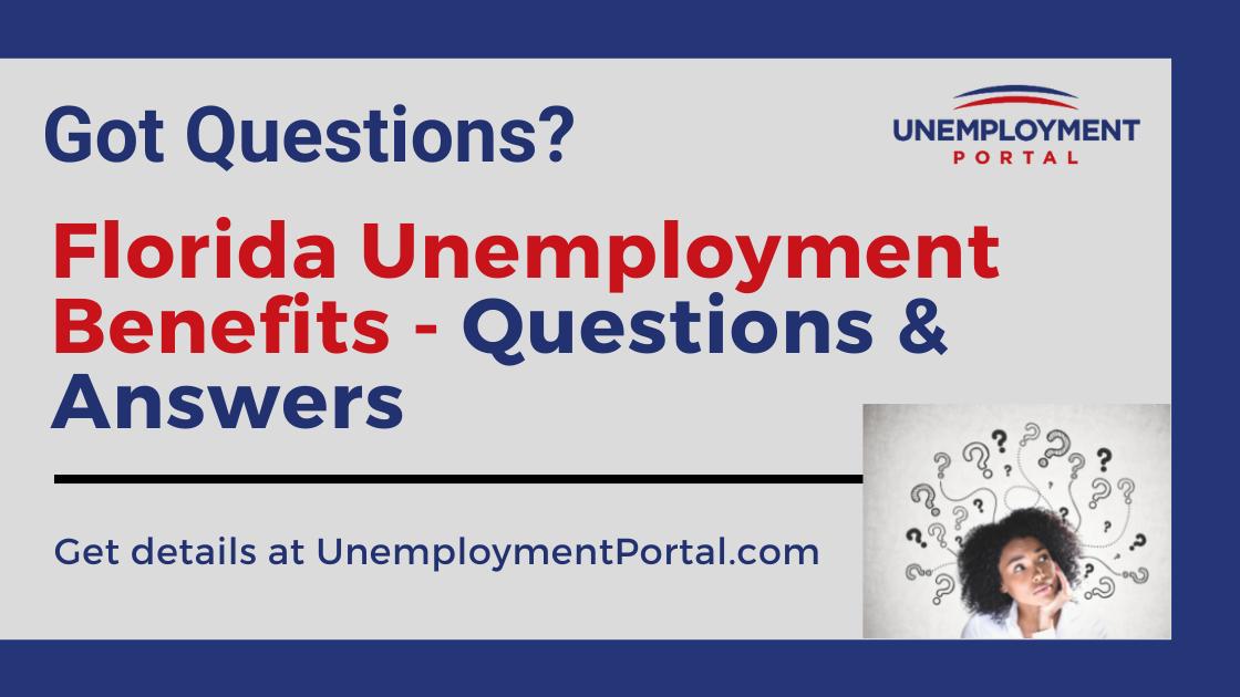 """Florida Unemployment FAQs"""