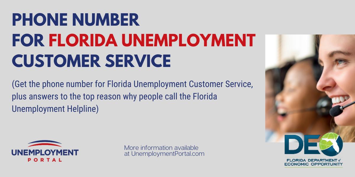 """Florida Unemployment Phone Number"""