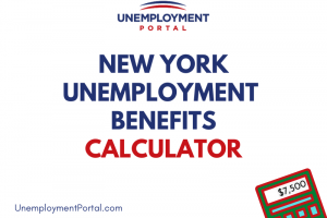 """""""How do you calculate unemployment benefits in New York"""""""
