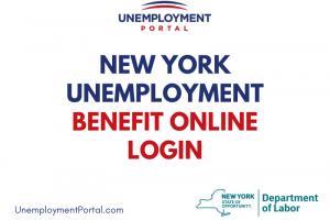 New York Unemployment Benefit Online Login