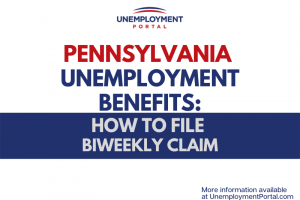 """Pennsylvania Unemployment - File Biweekly Claim"""