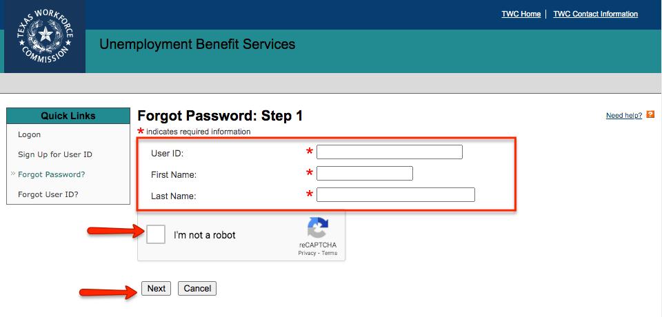 """""""TWC Login Reset Your Password"""""""