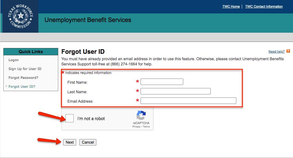 """TWC Login Retrieve User ID"""