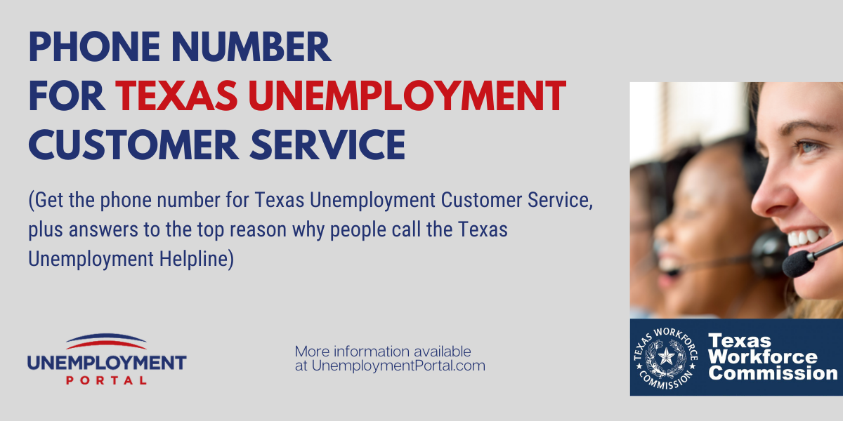 """""""Texas Unemployment Phone Number"""""""