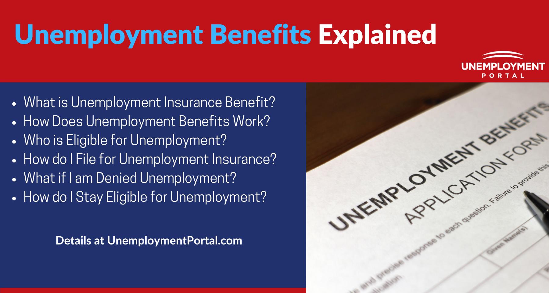 """""""Unemployment Benefits Explained"""""""