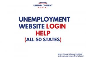 """""""Unemployment Website Login information"""""""