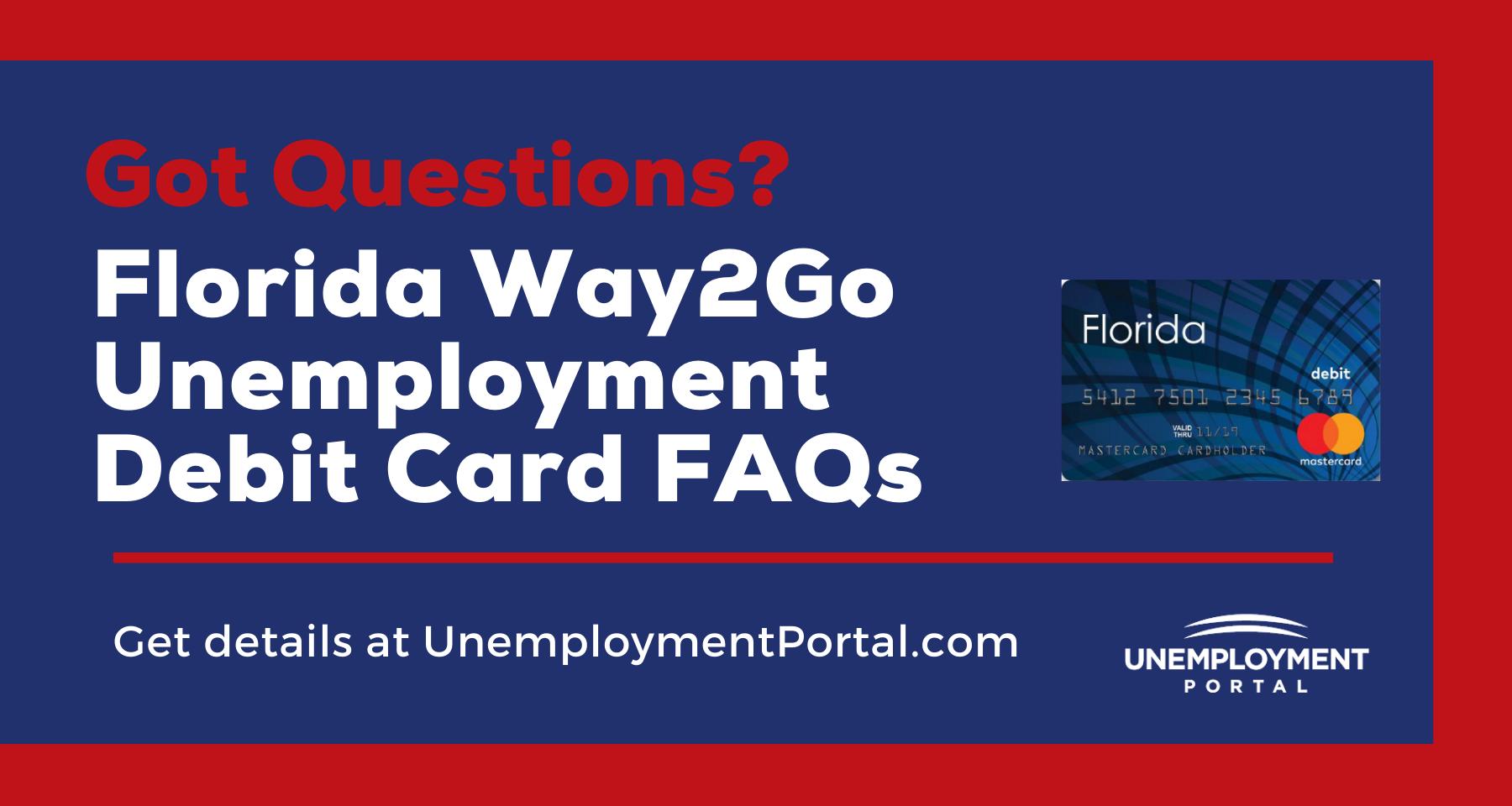 """Way2Go Card Florida FAQs"""