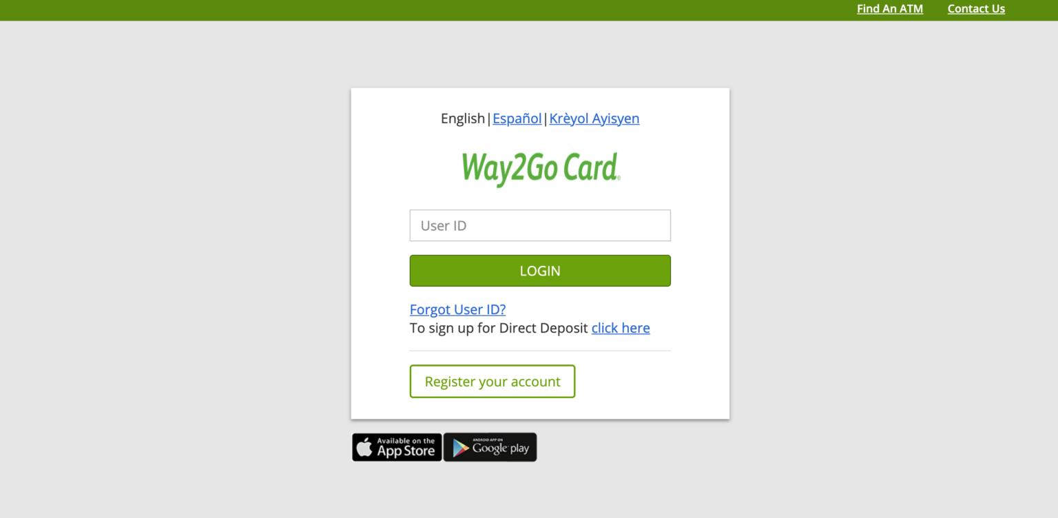 """Way2Go Georgia Card Login Help"""