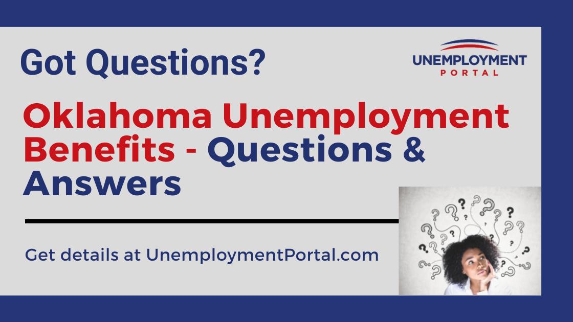 """Oklahoma Unemployment FAQs"""